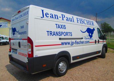 Décor adhésif utilitaire entreprise Jean-Paul FISCHER