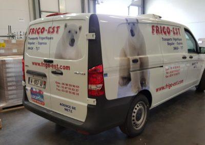 Décor utilitaire entreprise FRIGO-EST
