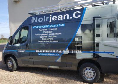 Décor véhicule utilitaire entreprise Noirjean C