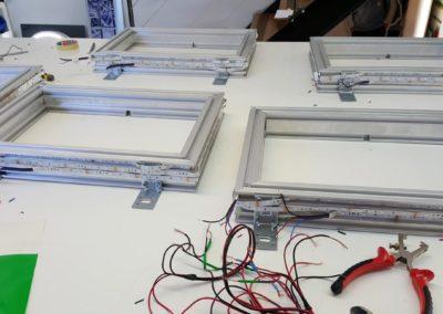 Fabrication de caisson lumineux