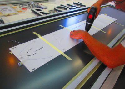 Fabrication enseigne CAROLL